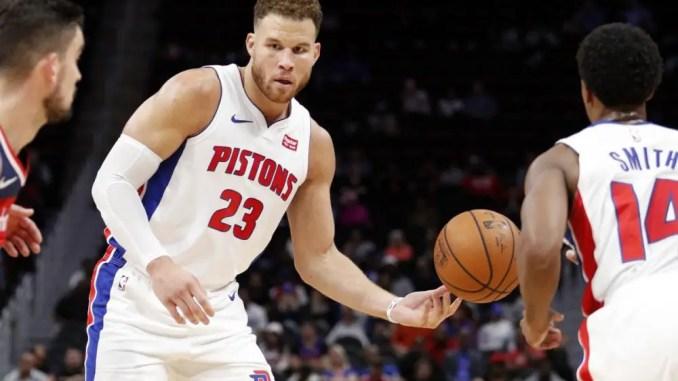 Blake Griffin, Ish Smith, Detroit Pistons, Bucks, Heat, Warriors, Hornets, Thunder, Clippers