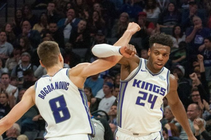 Buddy  Hield, Bogdan Bogdanovic, Sacramento Kings