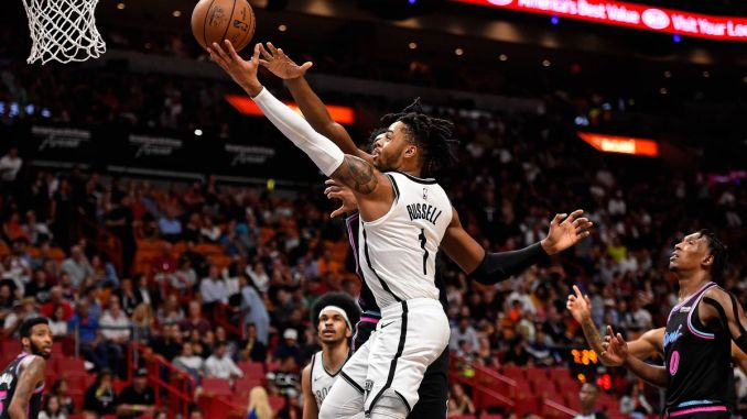 D'Angelo Russell, Brooklyn Nets, NBA