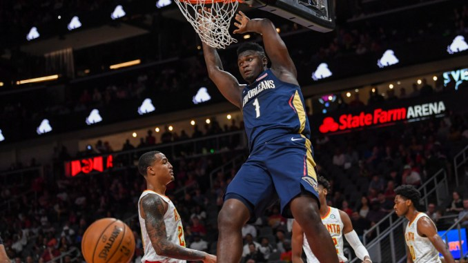 Zion Williamson, Pelicans, NBA