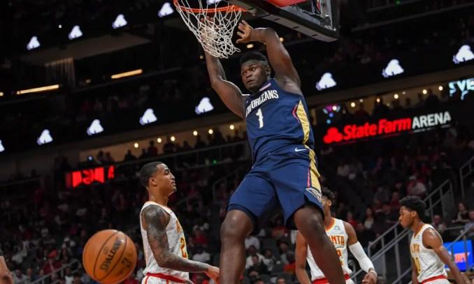 Zion Williamson, Pelicans, NBA