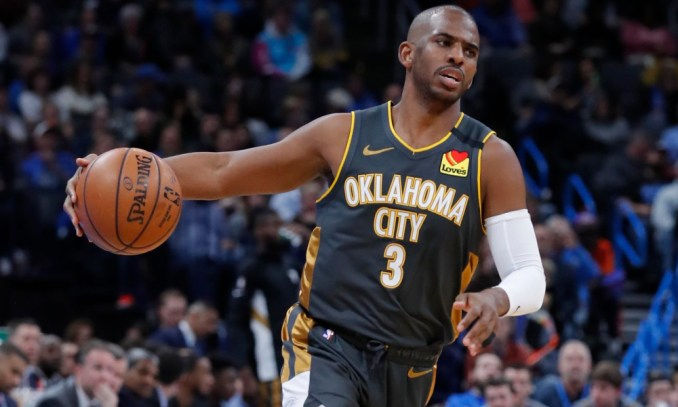 Chris Paul, Thunder, Suns, Pacers, Lakers