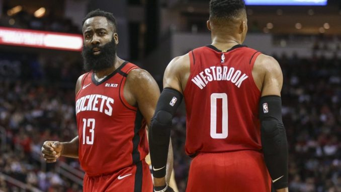 NBA Trade Rumors, Houston Rockets, Russell Westbrook, James Harden, Brooklyn Nets