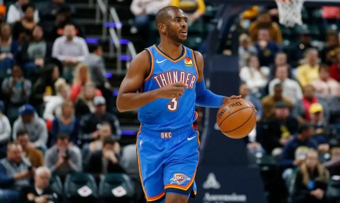 Thunder, Chris Paul, Knicks