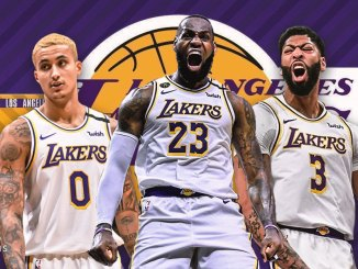 Kyle Kuzma, Anthony Davis, LeBron James, Spurs, Lakers