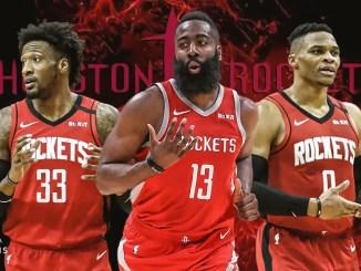 James Harden, Houston Rockets, Russell Westbrook, Robert Covington