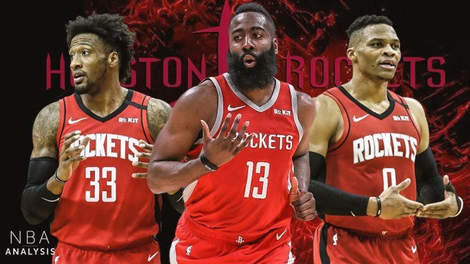 James Harden, Houston Rockets, Russell Westbrook, Robert Covington