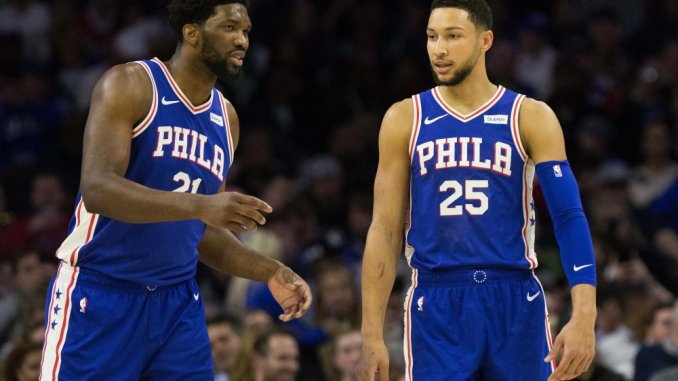 76ers, Ben Simmons, Joel Embiid, Kevin Durant