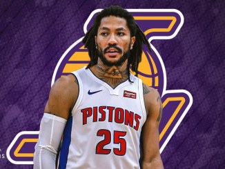 Derrick Rose, Lakers, LeBron James, Anthony Davis, NBA Trade Rumors, Detroit Pistons