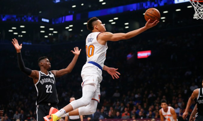 Kevin Knox, Bulls, Lakers, Knicks
