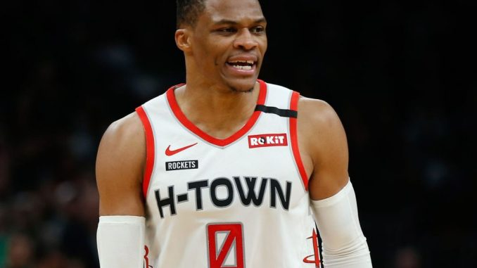 Russell Westbrook, Rockets, NBA Trade Rumors, Knicks, Clippers, Paul George, Bucks, Giannis Antetokounmpo, Lakers
