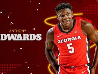 Anthony Edwards, NBA Draft, Hawks, Timberwolves