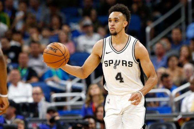 Derrick White, San Antonio Spurs, NBA