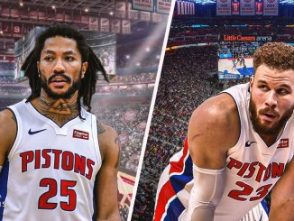 Derrick Rose, Blake Griffin, Pistons