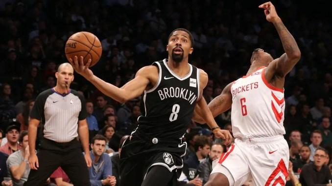 Spencer Dinwiddie, Suns, Brooklyn Nets, Kevin Durant, Kyrie Irving, Magic, Evan Fournier, NBA Rumors