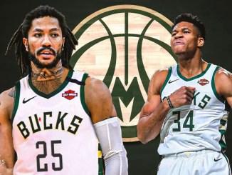 Derrick Rose, Giannis Antetokounmpo, Bucks, Pistons