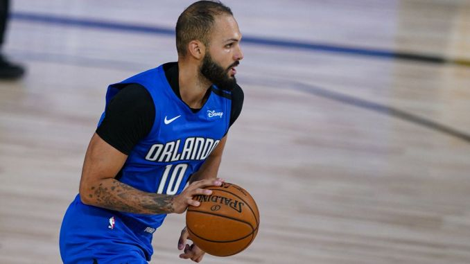 Evan Fournier, Orlando Magic, Boston Celtics, NBA Rumors, Los Angeles Lakers, LeBron James, Anthony Davis, Bucks