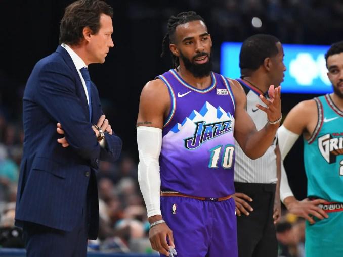 Mike Conley, Utah Jazz, Dallas Mavericks, Luka Doncic, NBA Rumors