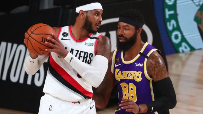 Portland Trail Blazers, Carmelo Anthony, NBA Rumors, Los Angeles Lakers