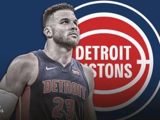 Blake Griffin, Pistons