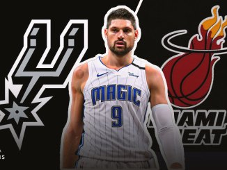 Nikola Vucevic, Magic, Spurs, Heat