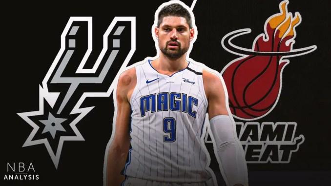 Nikola Vucevic, Magic, Spurs, Heat