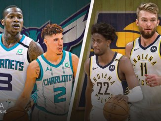 Indiana Pacers, Charlotte Hornets, Domantas Sabonis, LaMelo Ball, Terry Rozier, Caris LeVert, NBA Playoffs