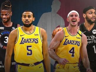 Los Angeles Lakers, Talen Horton-Tucker, Alex Caruso, Bruce Brown, Brooklyn Nets, Nerlens Noel, New York Knicks, NBA Rumors, NBA free agency