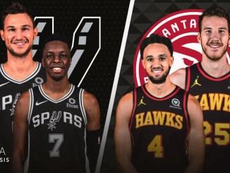 Atlanta Hawks, San Antonio Spurs, Danilo Gallinari, Onyeka Okongwu, Derrick White, Jakob Poeltl, NBA Trade Rumors