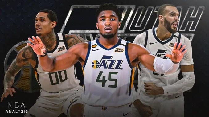 Utah Jazz, Jordan Clarkson, Donovan Mitchell, Rudy Gobert, NBA Playoffs