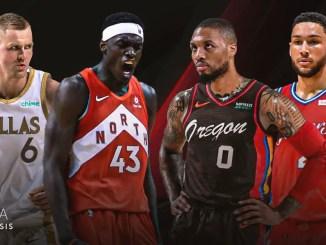 NBA Trade Rumors, Kristaps Porzingis, Dallas Mavericks, Pascal Siakam, Toronto Raptors, Damian Lillard, Portland Trail Blazers, Ben Simmons, Philadelphia 76ers