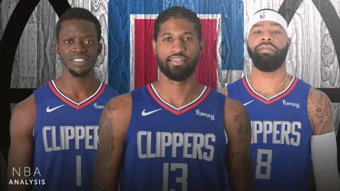 LA Clippers, Kawhi Leonard, Paul George, Marcus Morris Sr., Reggie Jackson, NBA Playoffs