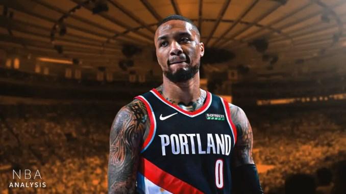 Damian Lillard, Knicks, Trail Blazers