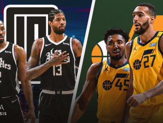 Utah Jazz, LA Clippers, Donovan Mitchell, Rudy Gobert, Paul George, Kawhi Leonard, NBA Predictions