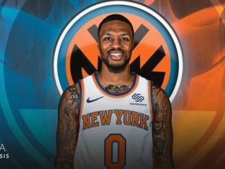 Damian Lillard, New York Knicks, Portland Trail Blazers, NBA Trade Rumors