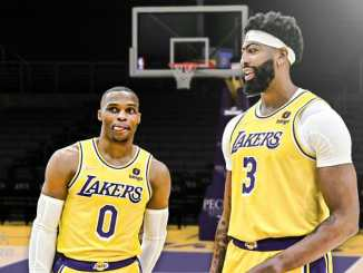 Los Angeles Lakers, Russell Westbrook, Anthony Davis, LeBron James, NBA