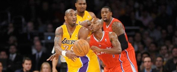 Lakers Clippers Kobe Bryant Caron Butler