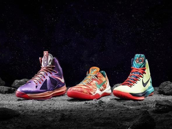 Nike basketball 2013 All-Star collection