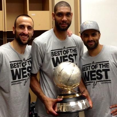 Spurs campeones Oeste 2013