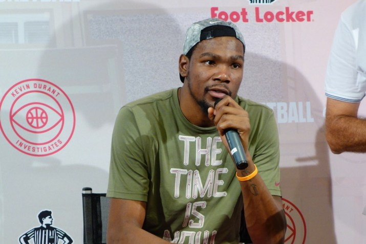 Kevin Durant Barcelona House of Hoops KDI