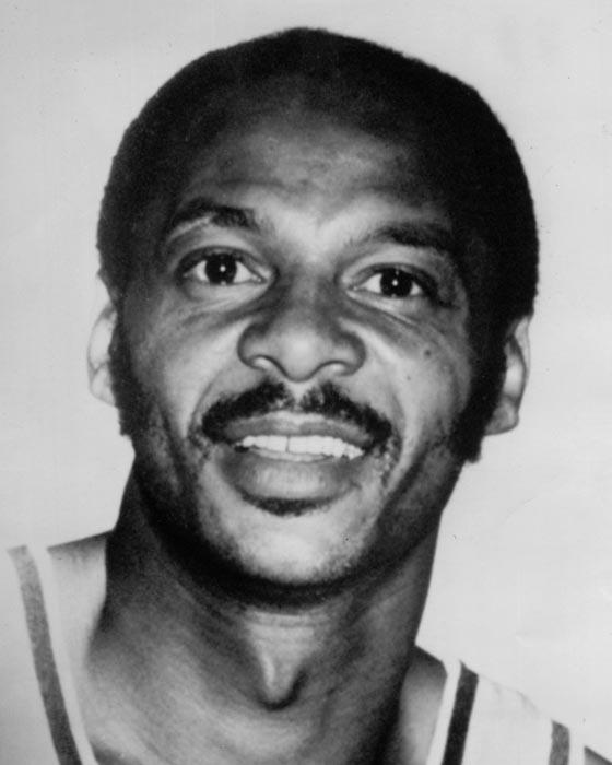 1974 photo of Zalmo Beaty, former Laker player.