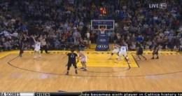 Kevin Martin anota el tiro de la victoria ante los Warriors