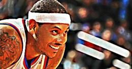 En la cabeza de Carmelo Anthony