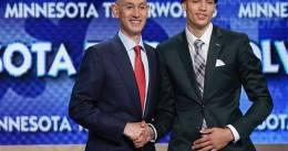 """Zach LaVine y su """"fuck me"""" tras ser escogido por los Minnesota Timberwolves"""