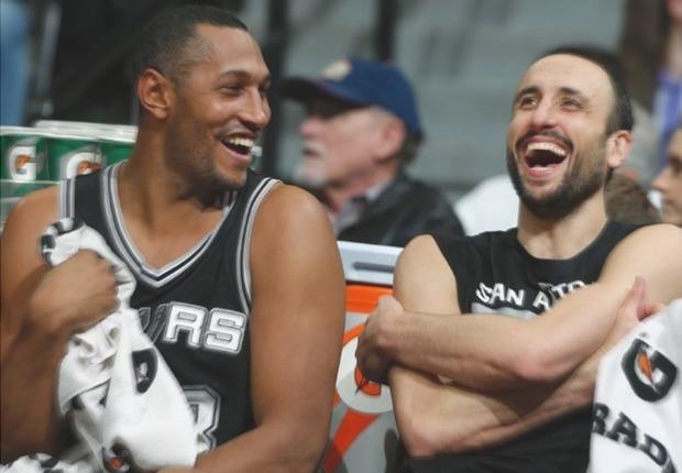 Ginobili y Diaw Spurs