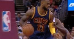 LeBron James se queda a un paso de promediar un triple-doble contra Atlanta