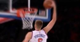 Porzingis quiere hacer un cuádruple-doble en la NBA