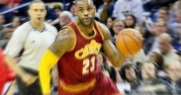 LeBron James llega a 17º anotador histórico de la NBA