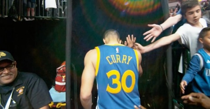 Stephen Curry supera los 400 triples