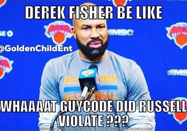 meme Derek Fisher